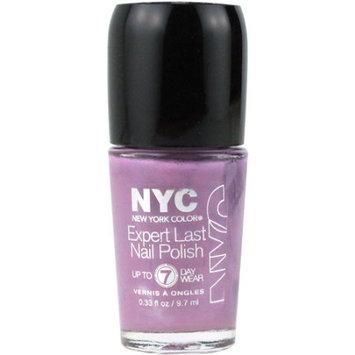New York Color 255 0.33 oz Expert Last Nail Polish Late Night Lilac