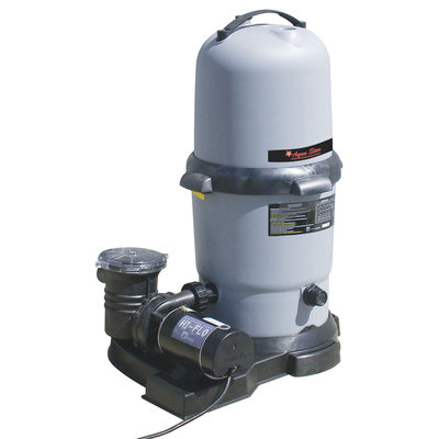 Swim N Play Inc. Heritage Pools 100 sq ft Cartridge Filter System with 1hp Pump