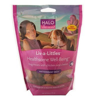 Halo, Purely For Pets Liv-a-Littles Healthsome Well-Being Dog Biscuits