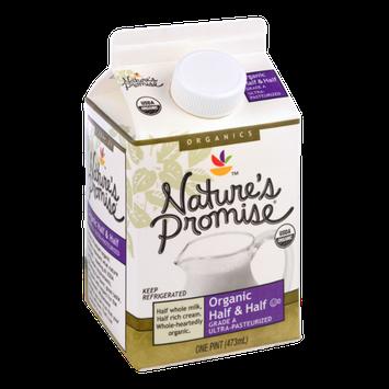 Nature's Promise Organics Organic Half & Half Grade A Ultra-Pasteurized