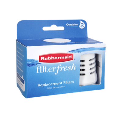 Rubbermaid Filter Fresh Replacement Bottle Filters - 2 CT