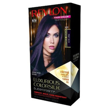 Revlon® Luxurious Colorsilk Buttercream™ Haircolor Vivid Colors Collection 28DV Vivid Violet Black 7.3floz