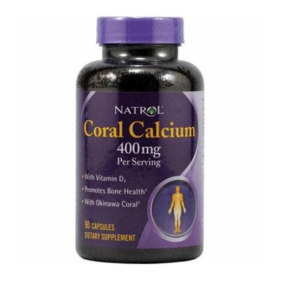 Natrol Coral Calcium 400 mg 90 Capsules