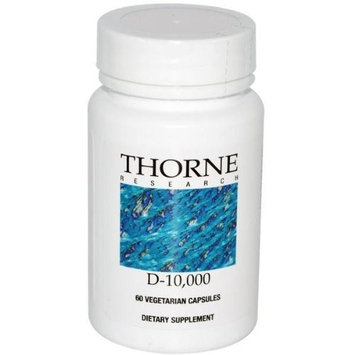 THORNE RESEARCH - Vitamin D-10,000 - 60ct Health and Beauty