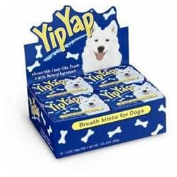 Chomp Inc Yip Yap Dog Breath Fresh 12pk