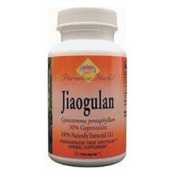 Paradise Herbs Jiaogulan - 60 Vegetarian Capsules