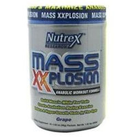 Nutrex Research Labs, Mass Xxplosion, Grape, 15 Packets, 1.52 Lbs