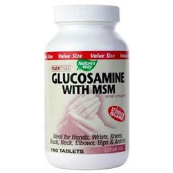 tures Way FlexMax Glucosamine with MSM 160 tabs from Nature's Way