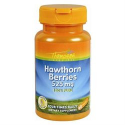 Hawthorn Berry 525mg 60 caps, Thompson Nutritional Products