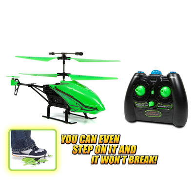 David Shaw Silverware Na Ltd 3.5ch Gyro Glow In Dark Nano Hercules Unbreable IR Helicopter