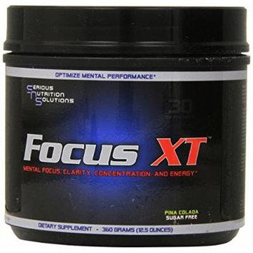 Serious Nutrition Solution Focus XT, Pina Colada 12.5oz.