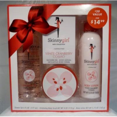 Skinnygirl White Cranberry Cosmo Bath Collection