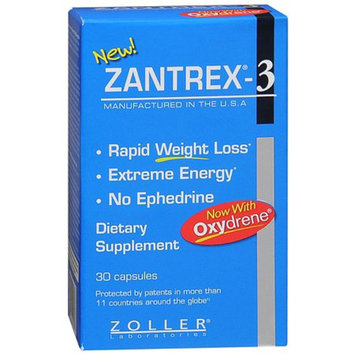Zantrex-3 Weight Loss Dietary Supplement Capsules