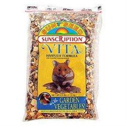 .Sun Seed Vita Hamster Formula with Garden Vegetables (2.5-lb resealable bag)