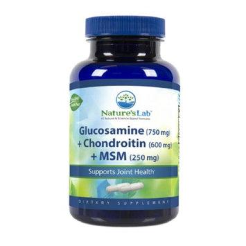 Nature's Lab Glucosamine, Chondroitin & MSM, 60 ea
