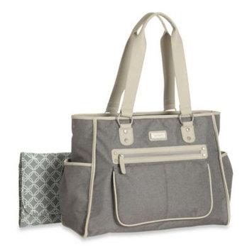 Carter's Essence Flannel Diaper Bag in Grey