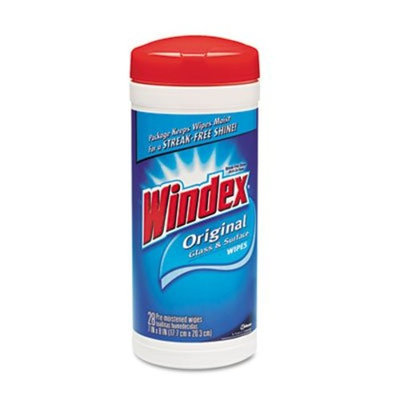 SC Johnson CLEANER,WINDEX,WIPES 28CT
