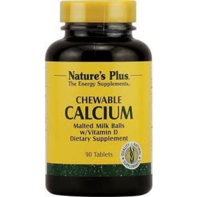 Nature's Plus - Calcium Van Malted Milk Balls Chew 90