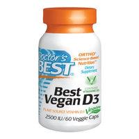 Doctor's Best Best Vegan D3 2500IU, Veggie Capsules