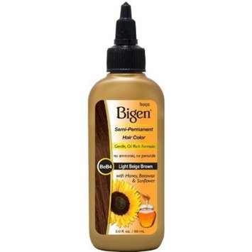 Bigen Semi Permanent Hair Color, Light Beige Brown, 3.0 Ounce