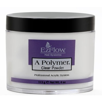Ezflow EZ Flow A Polymer False Nails, Clear, 4 Ounce