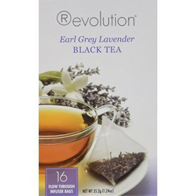 Revolution Tea, Earl Grey Lavender, 16 Flow-through Infuser Bags in a Stay-Fresh Container