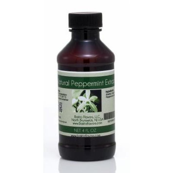 Bakto Flavors Natural Peppermint Extract - 4 OZ