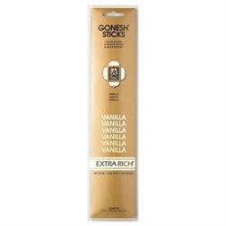 Gonesh 20811 Genieco Incense Stick Vanilla (4 Pack)