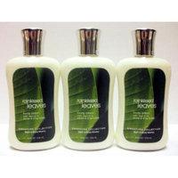 Bath & Body Works RAINKISSED LEAVES Body Lotion 8 oz - Lot of 3