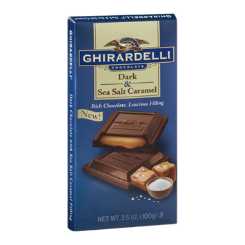 Ghirardelli Chocolate Dark & Sea Salt Caramel
