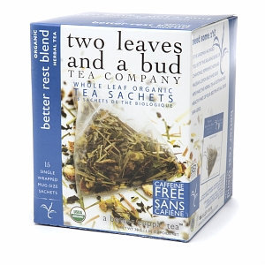 Two Leaves and a Bud Tea Company Organic Herbal Tea