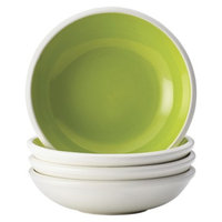 Rachael Ray Rise Fruit Bowl Set of 4 - Green (7.5 oz.)