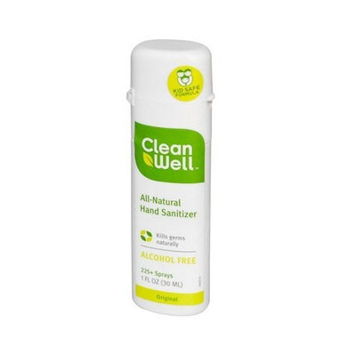 Clean Well Hand Sanitizer Spray CleanWell 1 oz Spray