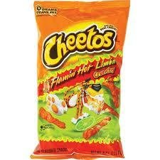 Cheetos Flaming Hot Lime