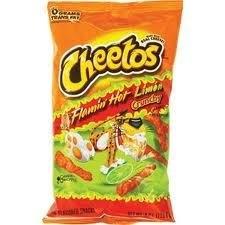 Cheetos Flaming Hot Lime