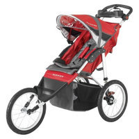 Schwinn Arrow Fixed Jogger Single - Red and Black