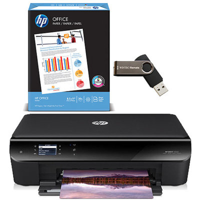 HP Envy 4501 Inkjet e-All-in-One Printer w/ Accessories Value Bundle