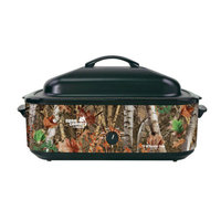 Nesco Open Country 18-Quart Woodland Birch Camouflage Roaster