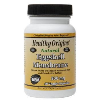Healthy Origins Natural Eggshell Membrane 500mg, Capsules, 60 ea