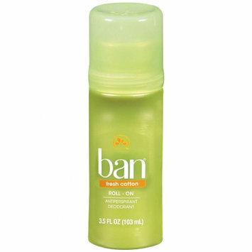 Ban Roll-On Antiperspirant & Deodorant Fresh Cotton