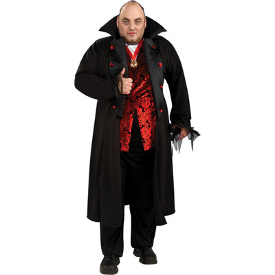 Rubies Royal Vampire Adult Halloween Costume, Size: Men's - One Size
