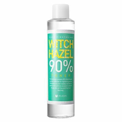 KOREAN COSMETICS, MIZON_ Witch Hazel 90% Toner 210ml (sebum control, Triple cleansing, skin booster, soothing skin, PH balance control) [001KR]