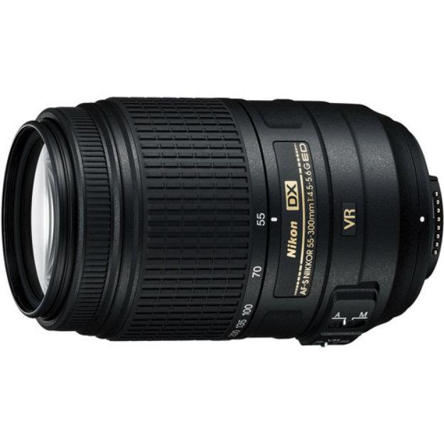 Nikon AF-S DX NIKKOR 55-300mm f/4.5-5.6G ED VR (5.5x) Zoom Lens -