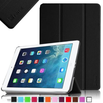 Fintie Ultra Slim Stand Cover SmartShell Case for Apple iPad Air iPad 5, Black