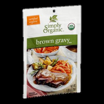 Simply Organic Brown Gravy Mix