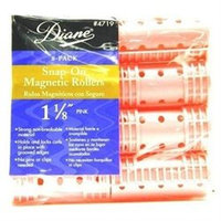 Diane Rollers Snap 1-1/8 Pink (8 Pieces) (Pack of 12)