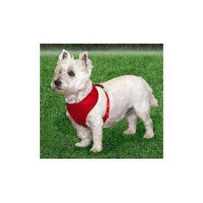 Coastal Pet Products Soft Adj Harness 3/4 Red