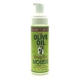 Organic Root Stimulator Olive Oil Mousse Set - 7 oz