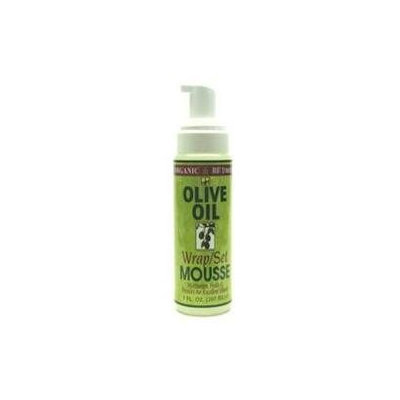 Organic Root Stimulator Olive Oil Mousse Set - 7 oz