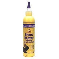Organic Root Stimulator Shea Butter Hair Softening Lotion
